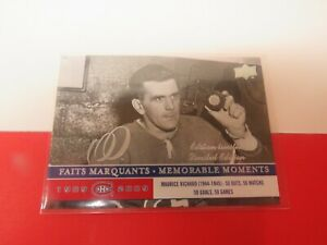 2008-09-UPPER-DECK-CENTENNIAL-CANADIENS-LIMITED-EDITION-290-MAURICE-RICHARD