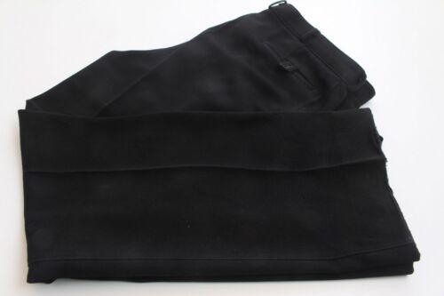 Plain Suit Pants Men's Suit Trousers Black