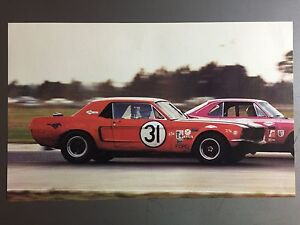 Picture Poster RARE! Awesome L@@K 1983 Ford Group 5 Capri Race Car Print