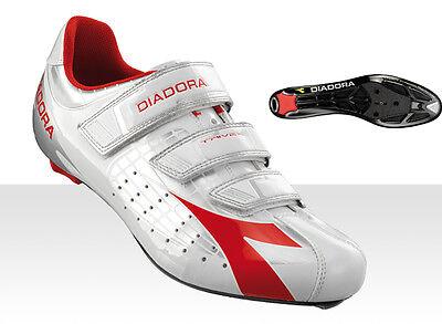 Diadora - Scarpe Corsa Trivex Grigio-bianco-rosso Taglia 44 Servizio Durevole