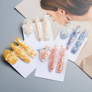 Women-Acrylic-Resin-Barrette-Hir-Clip-Stick-Hairpin-Hair-Accessories-Fashion-Set