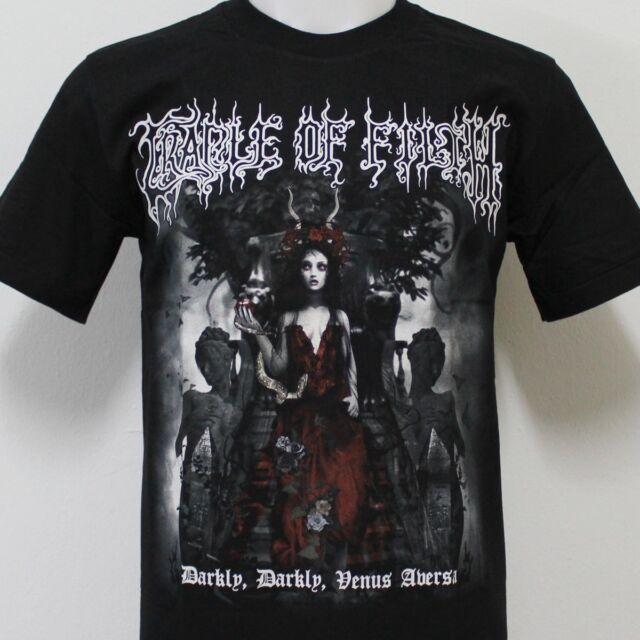 Cradle Of Filth Darkly Venus Aversa T-Shirt New Size S M L XL 2XL 3XL