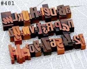 A-Z-0-9-mixed-Alphabet-Zahlen-Plakatlettern-Stempel-Drucklettern-Lettern-Deko