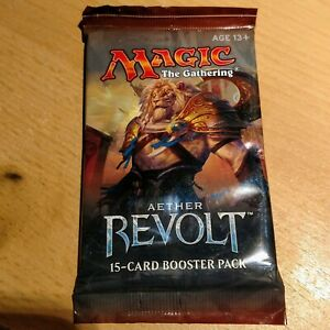 1x Magic the Gathering MTG Aether Revolt New Factory Sealed Booster Pack