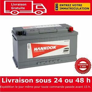 Hankook-60038-Batterie-de-Demarrage-Pour-Voiture-12V-100Ah-354-x-174-x-190mm