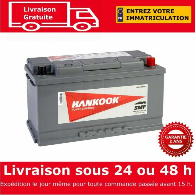 Hankook 60038 Batterie de Démarrage Pour Voiture 12V 100Ah - 354 x 174 x 190mm