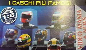 CASCHI-HELMETS-F1-SCALA-1-5-BOOKLET-CENTAURIA-VARIOUS-SELECT
