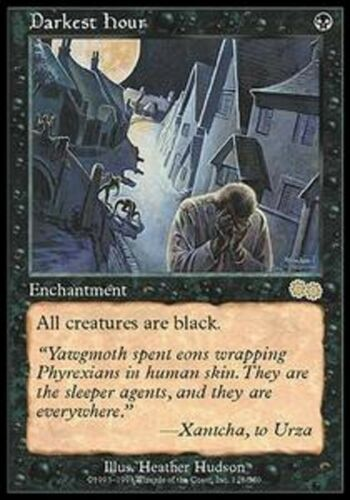 Mrm fr//vf hour dark-darkest hour mtg magic usg