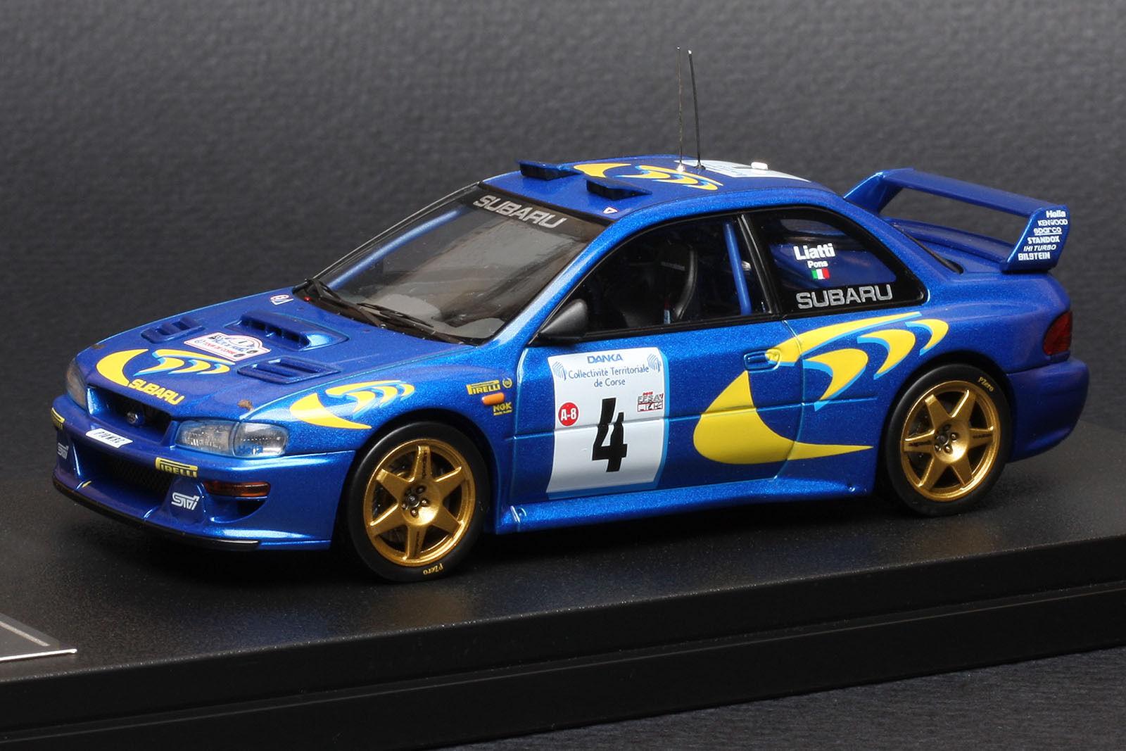 Subaru Impreza  4 1997 TOUR DE CORSE  Piero Liatti  -- HPI  8596 1 43