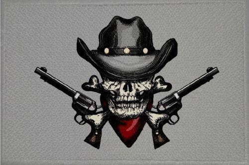 19 bandiera bandiera aufbügler Patch 9 x 6 cm Ricamate cowboy e indiani motivo n