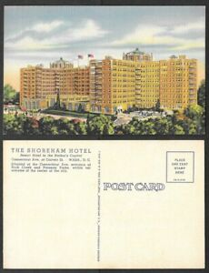 Old-Washington-DC-Postcard-Shoreham-Hotel