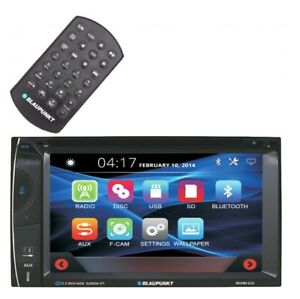 BlUPUNKT-Miami620-Double-DIN-6-2-034-Touch-Screen-LCD-DVD-CD-MP3-Bluetooth-Stereo