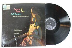 Bill-Butler-Lover-039-s-Hour-Decca-DL-8369-Mono-Vinyl-LP-Piano-Solos
