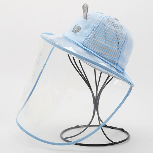 5-12 Months Baby Face Hat Outdoor Shield Safety Summer Foldable Bucket Sun Hats