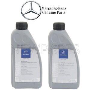 2 Liters Power Steering Fluid Genuine For Mercedes W164 R171 W204 W207 W208 W210 Ebay