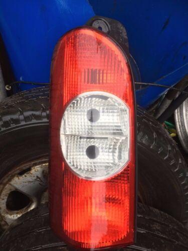 rear light lamp n//s//r back left renault master movano interstar 04 to 13 van