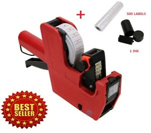 Price-Tag-Gun-MX-5500-8-Digits-EOS-5000-White-w-Red-Lines-Labels-1-Ink