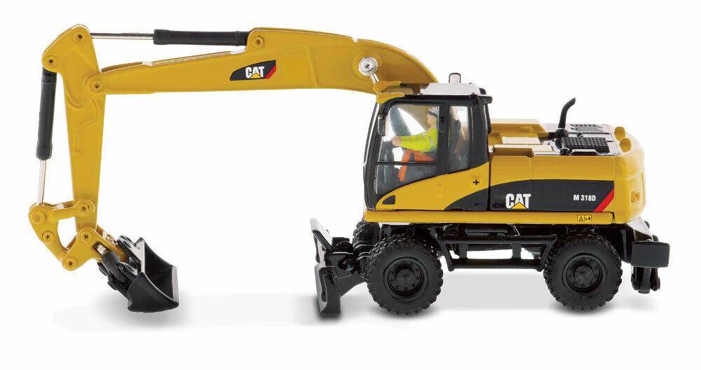 1 87 scale CAT M318D Wheel Excavator Die-cast Model - DM85177