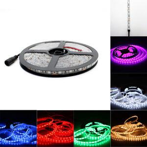 5M-Bande-Ruban-LED-Strip-Flexible-3528-5050-SMD-Fete-Noel-Mariage-Party-DC-Plug