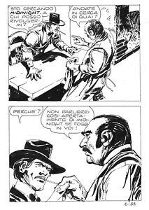 MORTIMER  6 (Ediperiodici, 1973) ORIGINAL ART page  33 by  VICTOR DE LA FUENTE