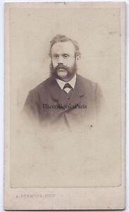 Alphonse Bernoud Napoli Italia Carte de visite Vintage Albumina Ca 1865