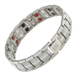 Gorgeous magnetic therapy bracelet 4 elements balance energy stress arthritis pain relief 4 Styles Gift for her Christmas