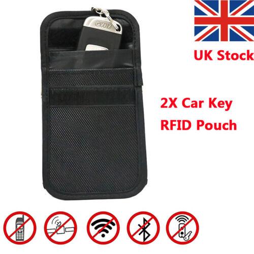 Willkey Phone Car Key Faraday Bag Keyless Entry Fob Signal Guard Blocker Case