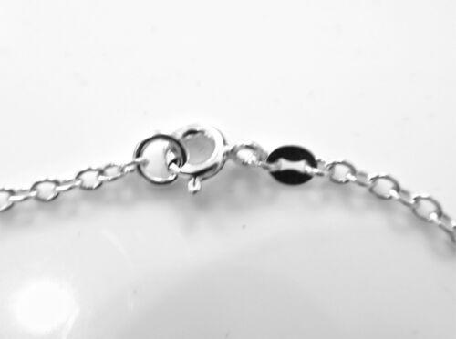 20mm Sterling Silver Karma Bracelet Eternity Infinity Circle Ring Chain Handmade