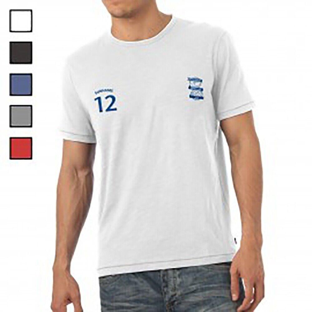 Birmingham City F.C - Personalised Mens T-Shirt (SPORTS)