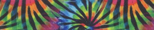 Country Brook Design® Tie Dye Stripes Grosgrain Ribbon