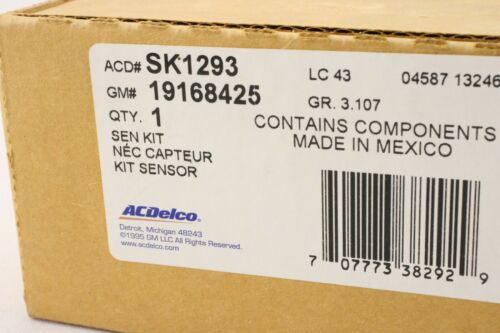 New OEM ACDelco SK1362 Fuel Tank Sending Unit Silverado Sierra 6.0 2011-2014 Gas