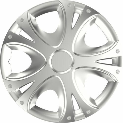 """4x Enjoliveur De Roue Hub Cap 14/"""" cover Fit Vauxhall Astra Corsa Agila Meriva"""