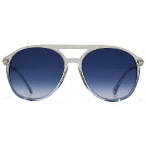 5536550853 Details about NEW Wildfox Couture Baroness Sunglasses in Crystal Cove Blue  Gradient EAMBAR000
