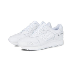 new arrivals 4e321 b5d39 Details about Asics Gel Lyte III 3 Triple White Shoe Size 12.5 DS IN  ORIGINAL BOX