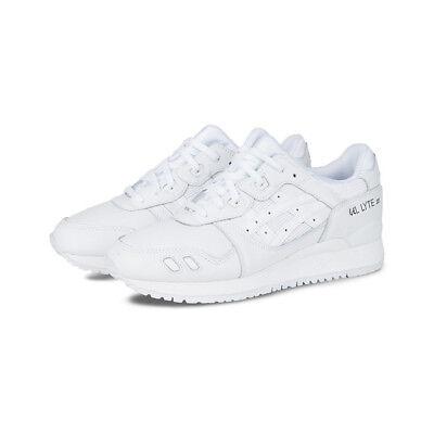the best attitude 7c912 94933 Asics Gel Lyte III 3 Triple White Shoe Size 12.5 DS IN ORIGINAL BOX | eBay