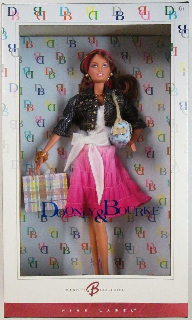 Dooney and bourke bourke bourke Muñeca Barbie (rosadododo Label) (Nuevo)  compra limitada