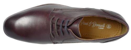 Burdeos O'donnell Paul Con Hombre Off 2 Cordones Boston Elegante Brush Zapato RnqUxqw6