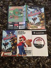 Gamecube Mario Superstar Baseball CIB Complete
