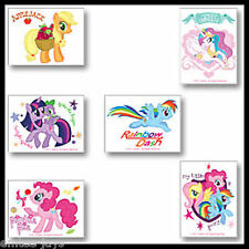 My Little Pony Tattoos - Party Favours x 12 pieces BIRTHDAY Supplies - Loot Bag