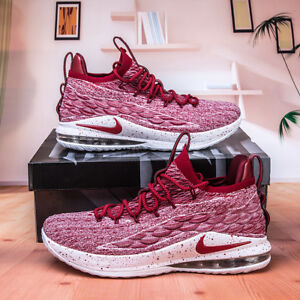 031c2a3ae00 Nike Lebron XV Low AO1755-200 Team Red Men s Basketball Shoes SIZE ...