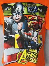 Boys/' T-Shirts Lego Marvel Avengers Hulk Ironman Thor Spider-man Teen Titans NWT