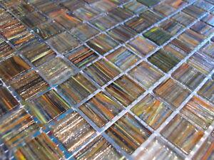 Glasmosaik Fliesen Mosaik Goldene Seide Murano Art Exclusiv Sauna