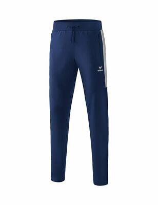 Details about  /Erima Sports Training Mens Pants Trousers Tracksuit Bottoms Ankle Zip Black