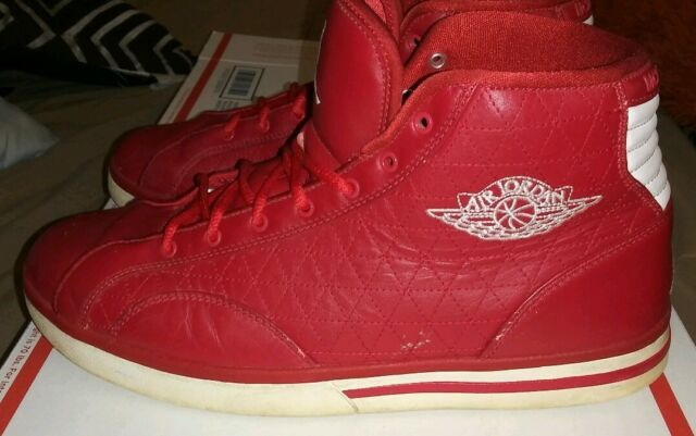 size 40 29738 4c482 Nike Air Jordan PHLY High Top MCMLXXVIII Legend White With Blue Red Size 12