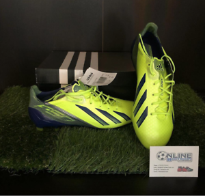 Adidas Adizero F50 TRX FG Synthetic - Electricity US 12, (2 3)
