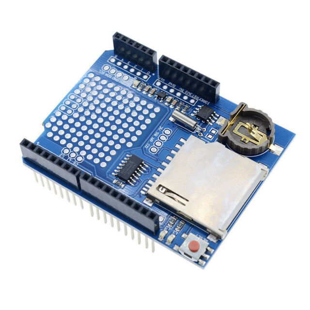1x Data Logger Module Logging Shield Data Recorder for Arduino UNO SD Card JD