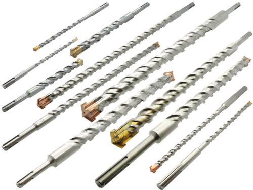 5 x SDS-PLUS Hammerbohrer Betonbohrer Ø 8 x 210 mm Quadro Stein Maurwerk Bohrer