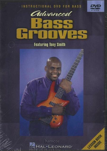Advanced Bass Guitar Grooves Learn How To Play Tuition DVD By Tony Smith
