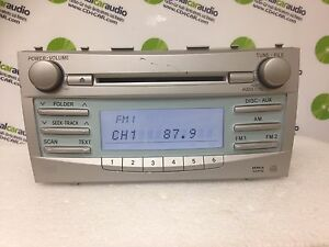 Image Is Loading 2007 2008 2009 Toyota Camry Non Jbl Radio