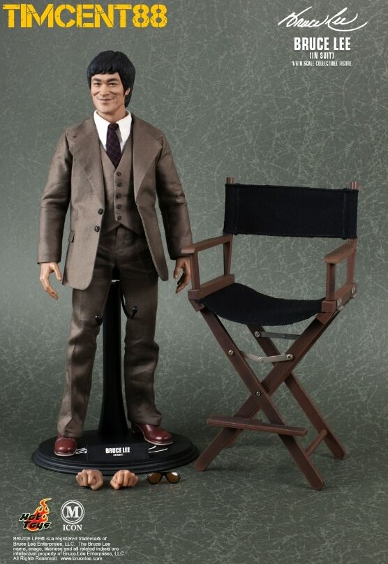 Ready  Hot Toys Toys Toys MIS 11 Bruce Lee In Suit Version 1 6 Figure NEW 7c8b1b